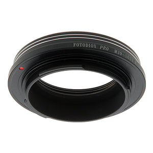 Fotodiox Pro Lens Mount Adapter - L39/LTM (x0.977 Pitch) Leica Thread Mount Lens to Sony Alpha E-Mount Mirrorless Camera Body