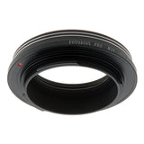 Fotodiox Pro Lens Mount Adapter - M39/L39 Screw Mount SLR Lens to Sony Alpha E-Mount Mirrorless Camera Body