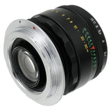 Fotodiox Pro Lens Mount Adapter Compatible with M42 Type 1 Screw Mount SLR Lens to Canon EOS (EF, EF-S) Mount SLR Camera Body - with Generation v10 Focus Confirmation Chip