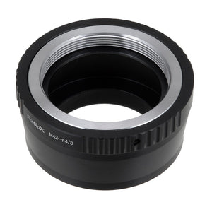 Fotodiox Lens Mount Adapter -  M42 Screw Mount SLR Lens to Micro Four Thirds (MFT, M4/3) Mount Mirrorless Camera Body