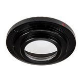 Fotodiox Pro Lens Mount Adapter - M42 Screw Mount SLR Lens to Nikon F Mount SLR Camera Body with Infinity Focus Glass