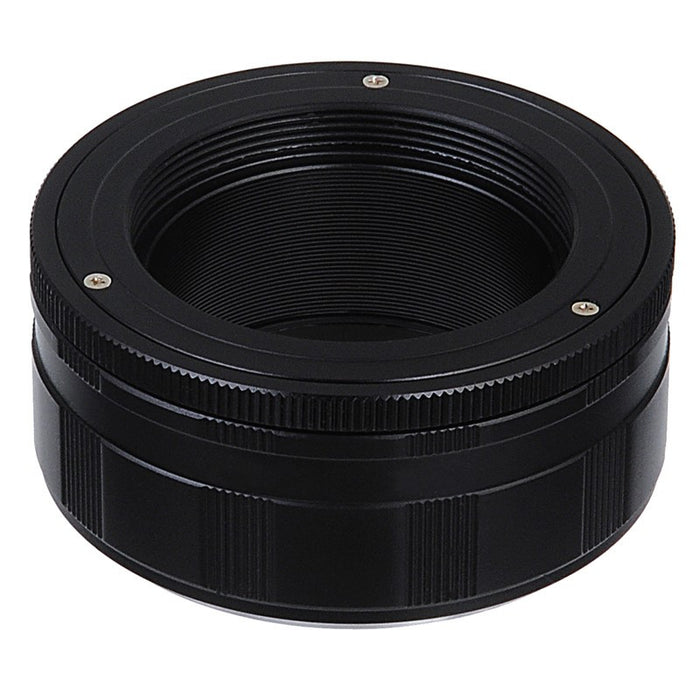 Fotodiox Lens Mount Adapter - M42 Type 2 (42mm x1 Screw Mount) to Sony Alpha E-Mount Mirrorless Camera Body with Macro Focusing Helicoid
