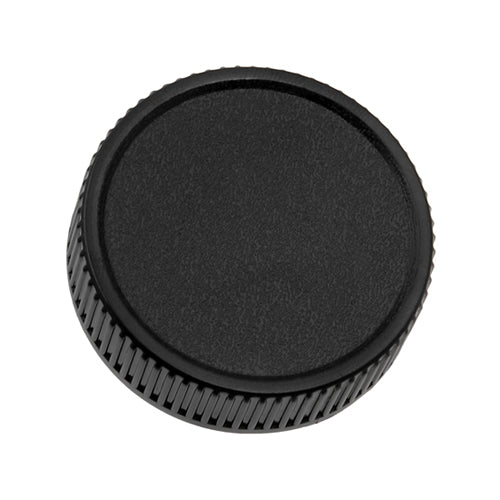 Fotodiox M42 Plastic Rear Lens Cap - Black Protective Rear Cap for 42mm x1 Thread Screw Mount Camera Lenses