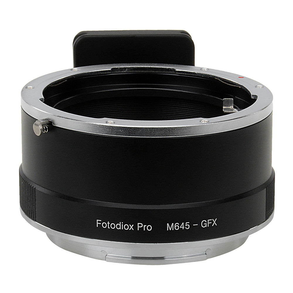 Fotodiox Pro Lens Mount Adapter, Mamiya 645 (M645) Mount Lens to Fujifilm G-Mount GFX Mirrorless Digital Camera Systems (such as GFX 50S and more)