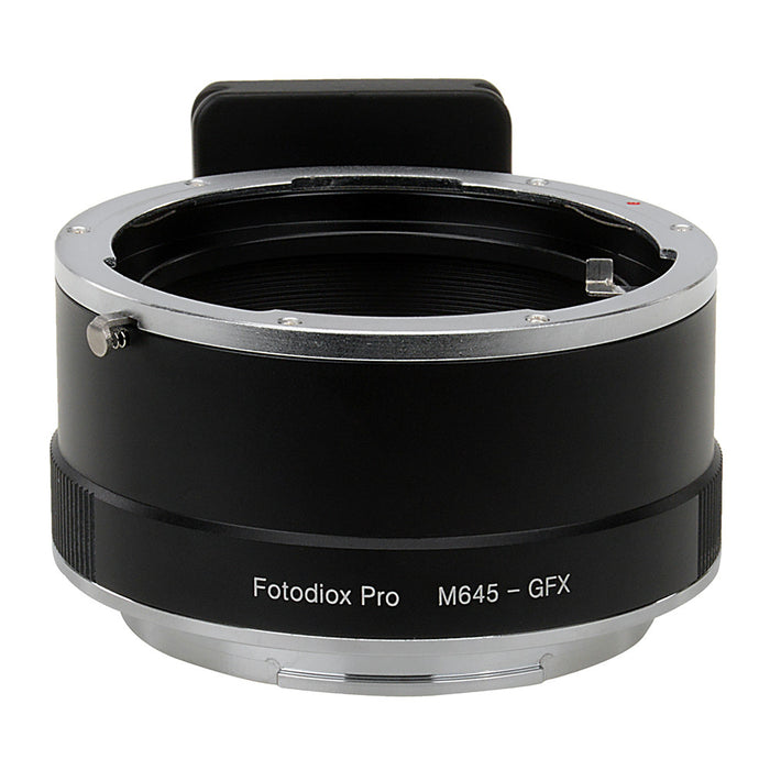 Fotodiox Pro Lens Adapter - Compatible with Mamiya 645 (M645) Mount Lenses to Fujifilm G-Mount Digital Camera Body