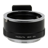 Adapters for Mamiya 645 (M645) Mount Lenses