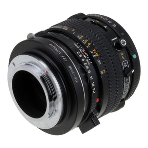 Fotodiox Pro Lens Mount Adapter - Mamiya 645 (M645) Mount Lenses to Nikon F Mount SLR Camera Body