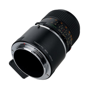 Fotodiox Pro Lens Mount Adapter, Mamiya 645 (M645) Mount Lens to Hasselblad XCD Mount Mirrorless Digital Camera Systems (such as X1D-50c and more)