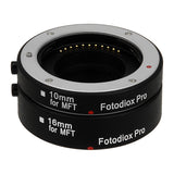 Auto Macro Extension Tubes for MFT