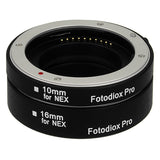 Automatic Macro Extension Tube Set for Sony E-Mount Cameras
