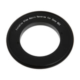 Macro Reverse Ring for Sony - Camera Mount to Filter Thread Adapter for Sony Alpha E-Mount Camera Mounts