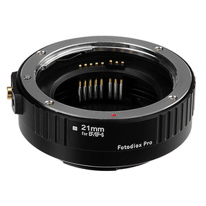 Fotodiox Pro Automatic Macro Extension Tube Set for Canon EOS (EF, EF-S) Mount SLR Cameras for Extreme Close-up Photography
