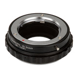 Fotodiox DLX Stretch Lens Mount Adapter - Minolta Rokkor (SR / MD / MC) SLR Lens to Fujifilm Fuji X-Series Mirrorless Camera Body with Macro Focusing Helicoid and Magnetic Drop-In Filters