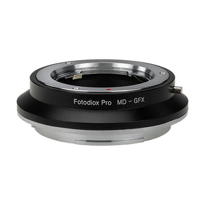 Fotodiox Pro Lens Mount Adapter, Minolta Rokkor (SR / MD / MC) SLR Lens to Fujifilm G-Mount GFX Mirrorless Digital Camera Systems (such as GFX 50S and more)