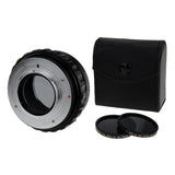 Fotodiox DLX Stretch Lens Mount Adapter - Minolta Rokkor (SR / MD / MC) SLR Lens to Micro Four Thirds (MFT, M4/3) Mount Mirrorless Camera Body with Macro Focusing Helicoid and Magnetic Drop-In Filters