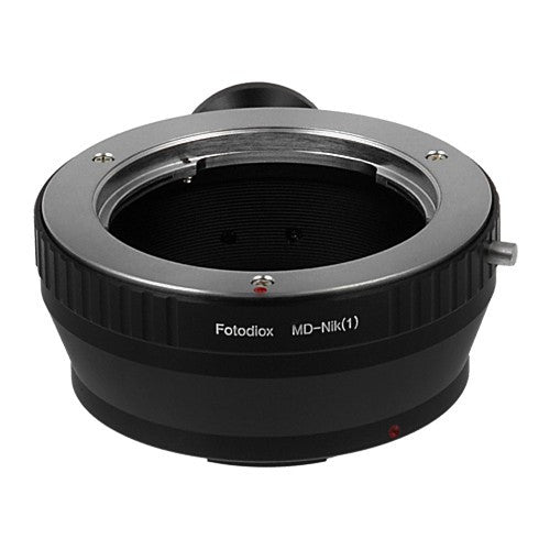 Fotodiox Lens Mount Adapter - Minolta Rokkor (SR / MD / MC) SLR Lens to Nikon 1-Series Mirrorless Camera Body