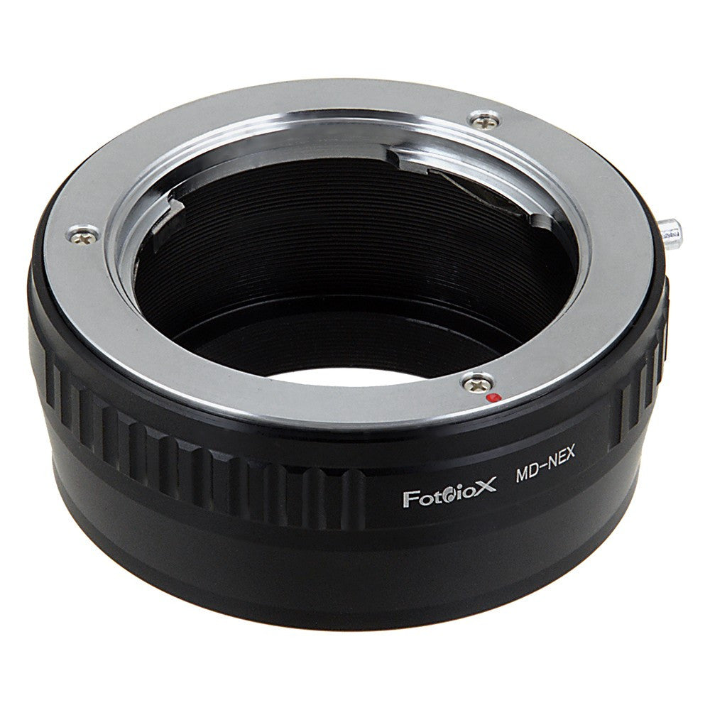 Lens Adapter kompatibel mit Minolta MD//MC Objektiv an Sony E-Mount NEX Kamera