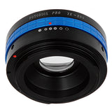 Fotodiox Pro Lens Mount Adapter - Mamiya 35mm (ZE) SLR Lens to Canon EOS (EF, EF-S) Mount SLR Camera Body, with Built-In Aperture Control Dial