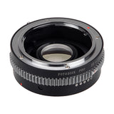 Fotodiox Pro Lens Mount Adapter - Mamiya 35mm (ZE) SLR Lens to Sony Alpha A-Mount (and Minolta AF) Mount SLR Camera Body