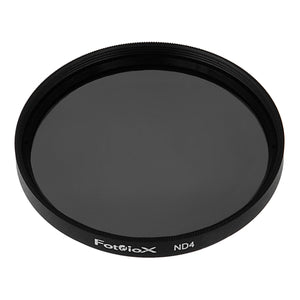 Fotodiox ND 4 (Neutral Density 0.6) Filter