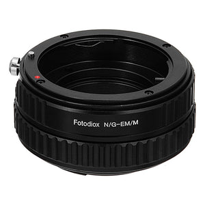 Nikon Nikkor (Including G & D-Type) SLR lens to Canon EOS M (EF-m Mount) Camera Bodies