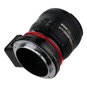 Fotodiox Pro Lens Adapter - Compatible with Nikon F Mount G-Type D/SLR Lenses to Hasselblad XCD Mount Digital Cameras