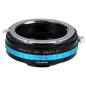 Nikon Nikkor F Mount G-Type D/SLR Lens to Samsung NX Mount Camera Bodies