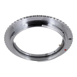 Fotodiox Lens Mount Adapter Compatible with Olympus Zuiko (OM) 35mm SLR Lens to Canon EOS (EF, EF-S) Mount SLR Camera Body - with Generation v10 Focus Confirmation Chip