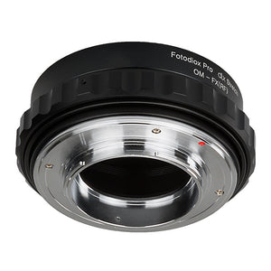 Fotodiox DLX Stretch Lens Mount Adapter - Olympus Zuiko (OM) 35mm SLR Lens to Fujifilm Fuji X-Series Mirrorless Camera Body with Macro Focusing Helicoid and Magnetic Drop-In Filters
