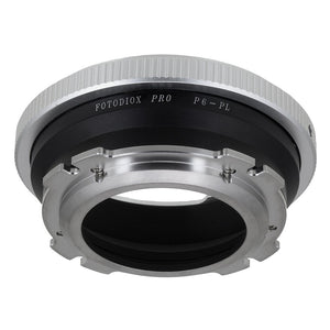 Fotodiox Pro Lens Adapter - Compatible with Pentacon 6 (Kiev 60) SLR Lenses to Arri PL (Positive Lock) Mount Cameras