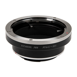 Fotodiox Pro Lens Mount Adapter - Pentax 645 (P645) Mount SLR Lens to Canon EOS (EF, EF-S) Mount SLR Camera Body