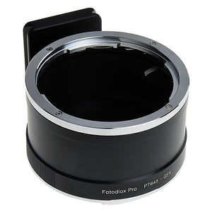 Fotodiox Pro Lens Mount Adapter, Pentax 645 (P645) Mount SLR Lens to Fujifilm G-Mount GFX Mirrorless Digital Camera Systems (such as GFX 50S and more)