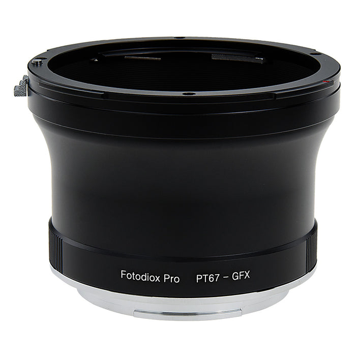 Fotodiox Pro Lens Mount Adapter, Pentax 6x7 (P67, PK67) Mount SLR Lens to Fujifilm G-Mount GFX Mirrorless Digital Camera Systems (such as GFX 50S and more)