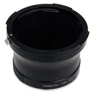 Fotodiox Pro Lens Adapter - Compatible with Pentax 6x7 (P67, PK67) Mount Lenses to Fujifilm G-Mount Digital Camera Body