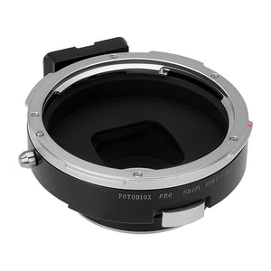 Fotodiox Pro Lens Mount Shift Adapter - Pentax 6x7 (P67, PK67) Mount SLR Lens to Nikon F Mount SLR Camera Body
