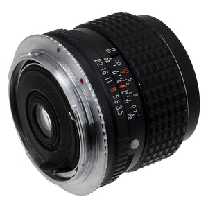 Fotodiox Lens Adapter - Compatible with Pentax K Mount (PK) Lenses to Canon EOS (EF-S Only) Mount Cameras