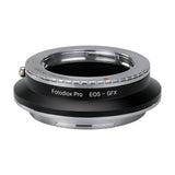 Fotodiox Pro Lens Mount Double Adapter, Pentax K Mount (PK) SLR and Canon EOS (EF / EF-S) D/SLR Lenses to Fujifilm G-Mount GFX Mirrorless Digital Camera Systems (such as GFX 50S and more)