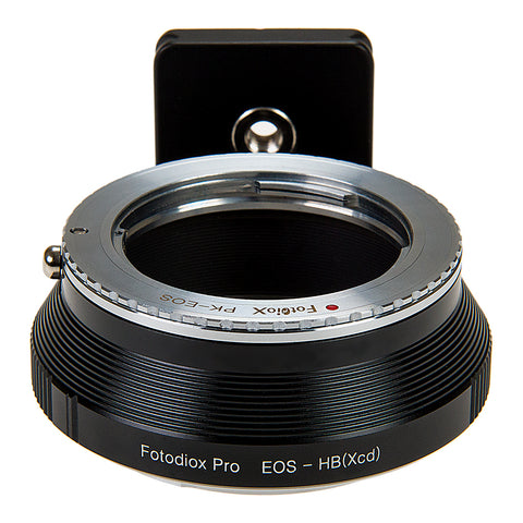 Fotodiox Pro Lens Mount Double Adapter, Pentax K Mount (PK) SLR and Canon EOS (EF / EF-S) D/SLR Lenses to Hasselblad XCD Mount Mirrorless Digital Camera Systems (such as X1D-50c and more)