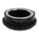 Adapters for Pentax K Mount (PK) SLR Lenses