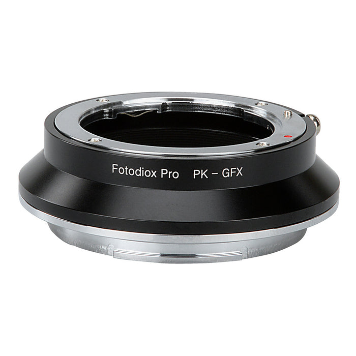 Fotodiox Pro Lens Mount Adapter, Pentax K Mount (PK) SLR Lens to Fujifilm G-Mount GFX Mirrorless Digital Camera Systems (such as GFX 50S and more)