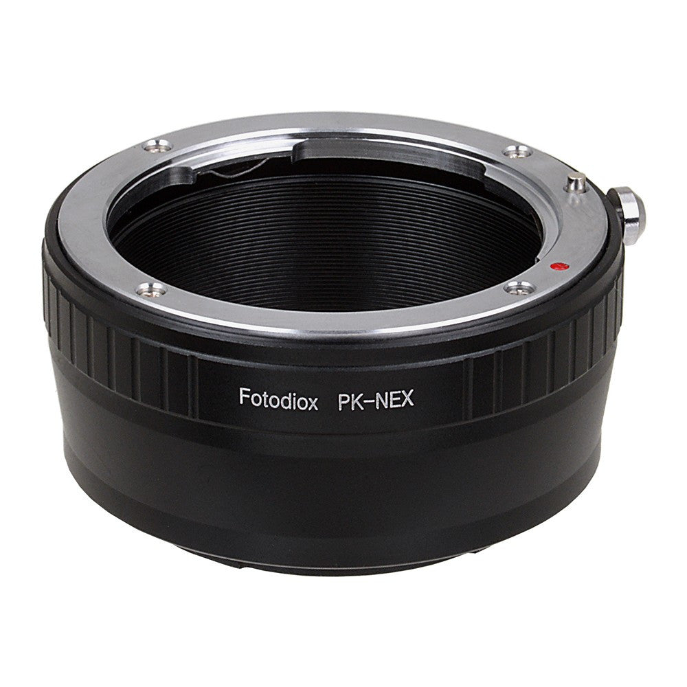 Pentax K SLR Lens to Sony Alpha E-Mount Camera Body Adapter