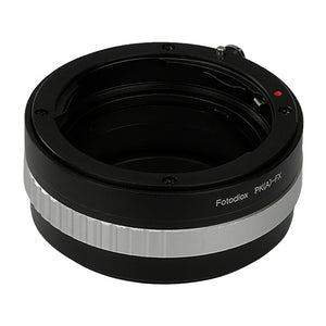 Fotodiox Lens Mount Adapter - Pentax K Mount (PKAF) D/SLR Lens to Fujifilm Fuji X-Series Mirrorless Camera Body