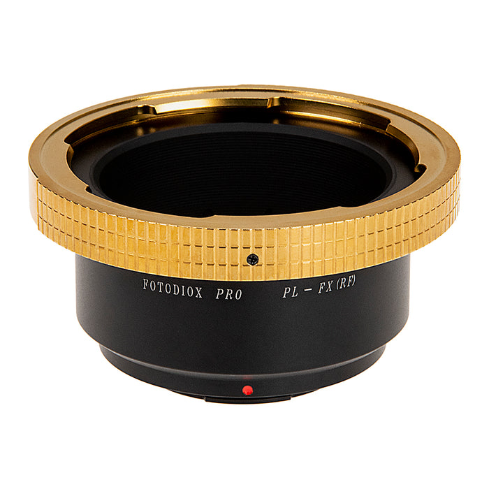 Fotodiox Pro Lens Mount Adapter - Arri PL (Positive Lock) Mount Lens to Fujifilm Fuji X-Series Mirrorless Camera Body