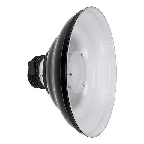 "Fotodiox 16"" Beauty Dish Reflector for PopSpot Ultra Focusing LED Lights"