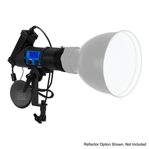 Fotodiox Pro PopSpot Ultra 100 Daylight - Focusing LED Light Kit, High-Intensity Daylight LED 5600k Focusable Spot Light for Still and Video