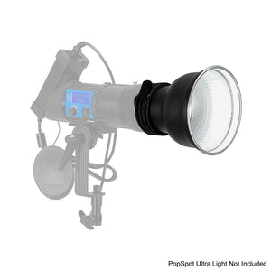 "PopSpot Ultra 7"" Reflector from Fotodiox Pro - White Interior"
