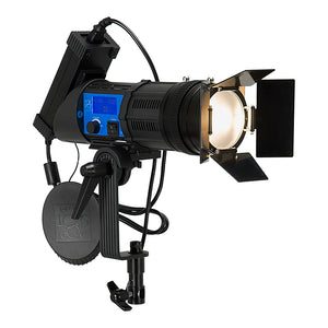 Fotodiox Pro PopSpot Ultra 100 Bi-Color - Focusing LED Light Kit, High-Intensity Dual Color LED 3200k-5600k Focusable Spot Light for Still and Video