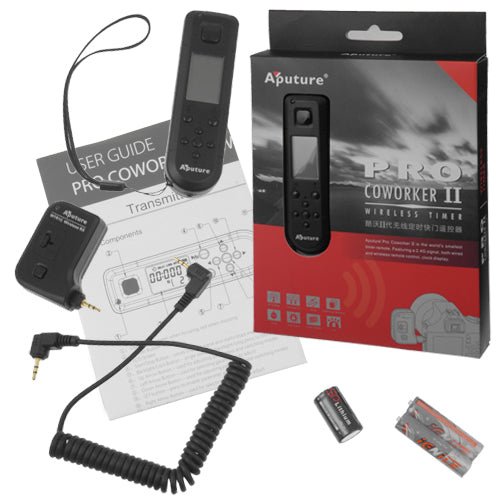 Aputure Coworker II, Wireless Timer Remote Control Trigger Kit