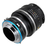 Fotodiox Pro Lens Mount Shift Adapter - Pentax 645 (P645) Mount SLR Lens to Sony Alpha E-Mount Mirrorless Camera Body