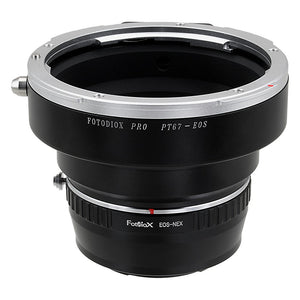 Pentax 67 SLR Lens to Sony Alpha E-Mount Camera Body Adapter